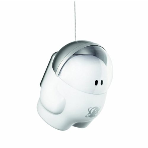 Lámpara infantil de techo Buddy Space de Philips con divertido astronauta blanco y minimalista