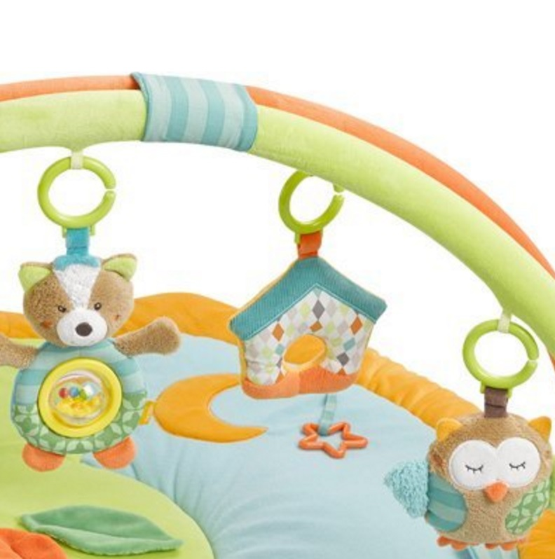 fehn de 3/ d de Activity de cuna turquesa Sleeping Forest